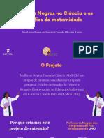 Mulheres Negras na Ciência e os desafios da maternidade
