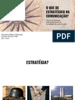 Guia Aula Estratégia e Comunicação
