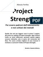 Project Strength Presentazione