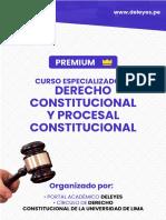 Curso Procesal Constitucional & Constitucional-FORMAL