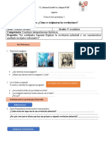Ficha de Autoaprendizaje 1 Los Origenes de La Evolucion Industrial