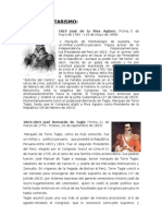 PRESIDENTES DEL PERÚ DURANTE LOS MILITARISMOS