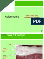Adipometro-lettura Della Traccia-Formazione Misura Di Punto