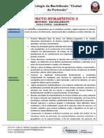 Proyecto 3 Humanistico-2do Ciencias