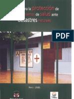 guias para la protección de establecimientos de salud ante desastres