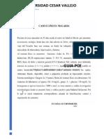 CASO CLINICO MALARIA