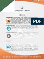 MODULOS INDICADOS - LOJAS DE TINTAS