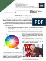 02. Atividade - Artes - Cor Pigmento -Têmpera-ovo