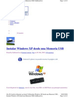 Instalar Windows XP desde USB