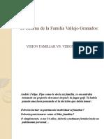 El Dilema de La Familia Vallejo Granados