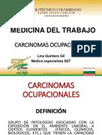 CARCINOMAS OCUPACIONALES