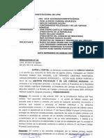 CSJ admite a trámite recurso para anular designación de Guido Bellido como jefe de la PCM