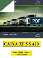 Caixa ZF 5 S 420 ( 5 Marchas ) Padrão MAN
