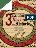 Alana Bassoet Et All (Orgs.) - 3º Encontro Discente de História - Ed. Fi