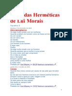 As Bodas Herméticas de Lui Morais