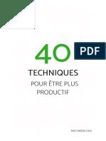 40-techniques-pour-être-plus-productif