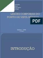 LESÕES CORPORAIS DO PONTO DE VISTA MÉDICO-LEGAL