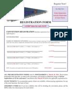 2011 SDNA Convention Registration