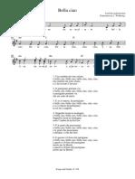 Spartito Partitura - Bella Ciao (Noten)
