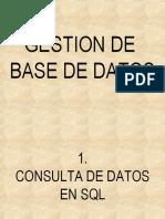 Consulta de Datos en SQL