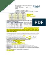 Prova de Reposição de Química 1anos Edit (1BIM)