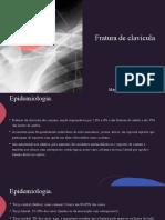 Fratura de clavícula
