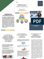 SISTEMA DE SEGURIDAD SOCIAL INTEGRAL EN COLOMBIA FOLLETO