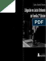 Litigacion en Juicio Ordinario de Familia 2 Completo