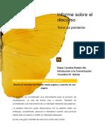 Informe sobre el discurso_Plantilla