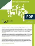 Australia's Green Economic Potential