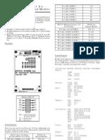 Quick Start DT-IO 3x4 Keypad