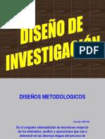 IV DISEÑO DE INVESTIGACIÓN