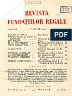 Revista fundațiilor regale aprilie 1935