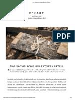 Das Sächsische Holzstoffkartell