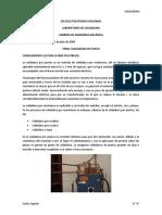INFORME SOLDADURA DE PUNTO