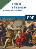 (folio histoire) Michèle Fogel - Roi de France _ De Charles VIII à Louis XVI-Gallimard (2014)