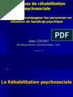 Techniques de Rehabilitation Psychosociale Formation 2013