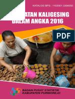 Kecamatan Kaligesing Dalam Angka 2016