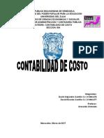Contabilidad de Costo 004 - Diferencias entre Contabilidad de costo y contabilidad Administrativa, financiera.