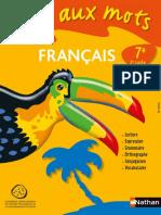Français 7e IAM LE Entier