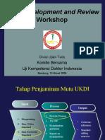 Workshop Item Development and Review UKDI