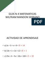 Guia n 4 Matematicas