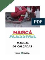 Manual de Calçadas-Programa Maricá Acessível