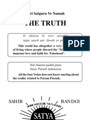 The Truth | Guru | Soul