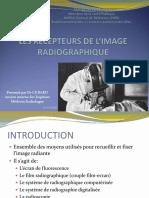3 -LES RECEPTEURS DE L IMAGE RADIOGRAPHIQUE