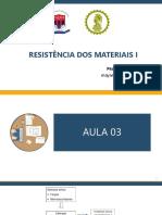 Resistência dos Materiais I - Tensão (Teoria e Exemplos)