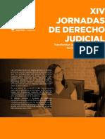 Programa Jornada de Derecho Judicial 2021
