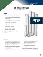 Ultra-Web SB Pleated Bags English-Spanish