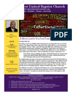 Church Bulletin 10/27