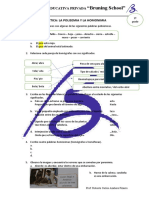 16. práctica - la polisemia y la homonimia